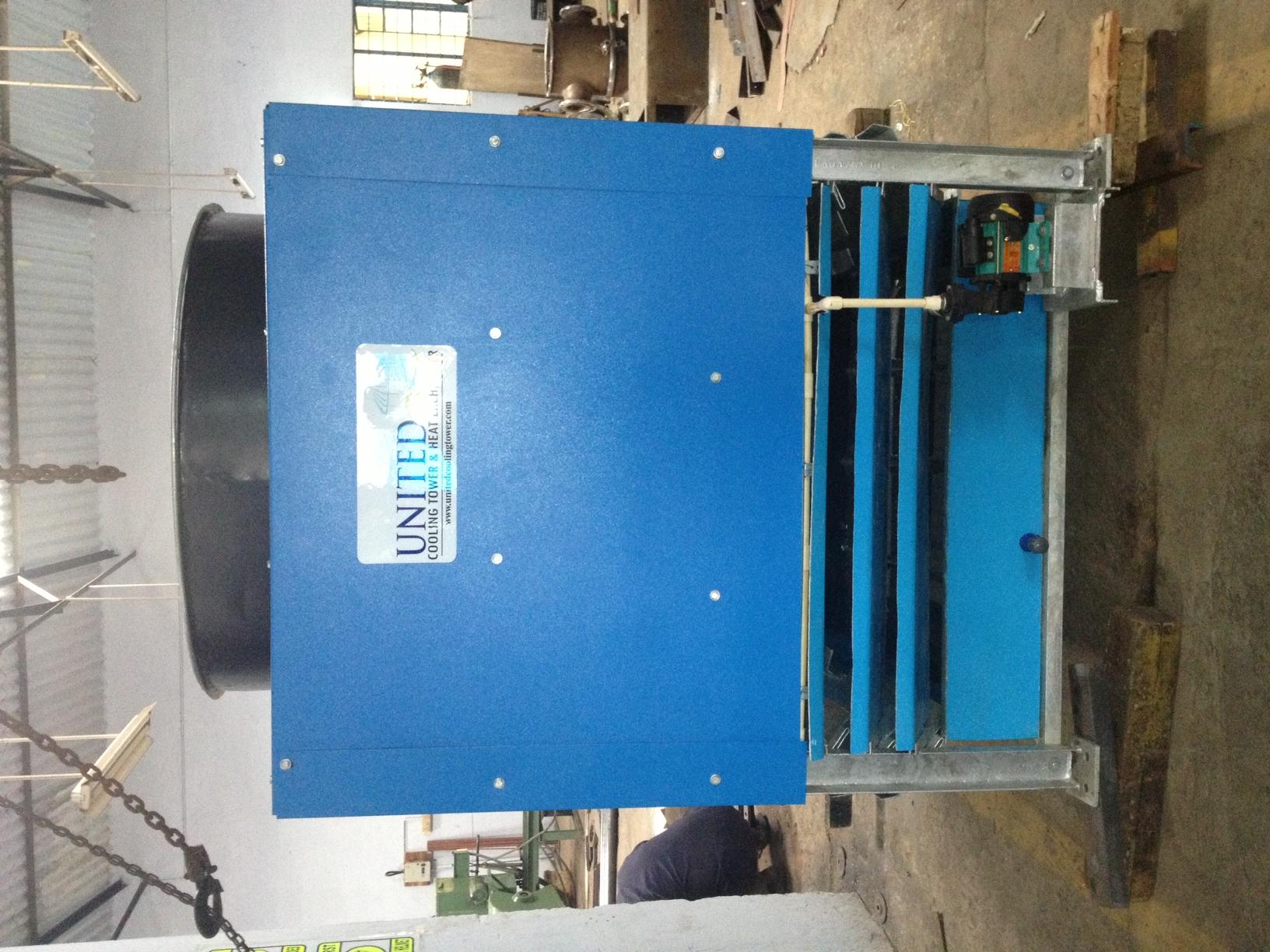 Adiabatic air cooled heat exchangers