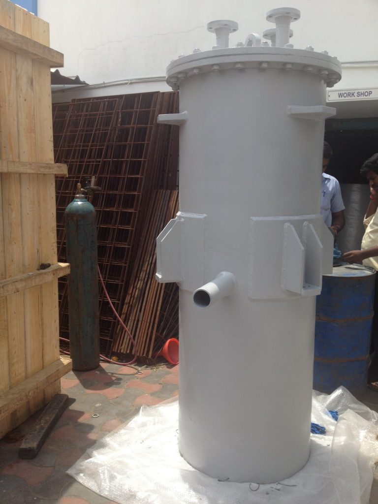 Cassion oil heater