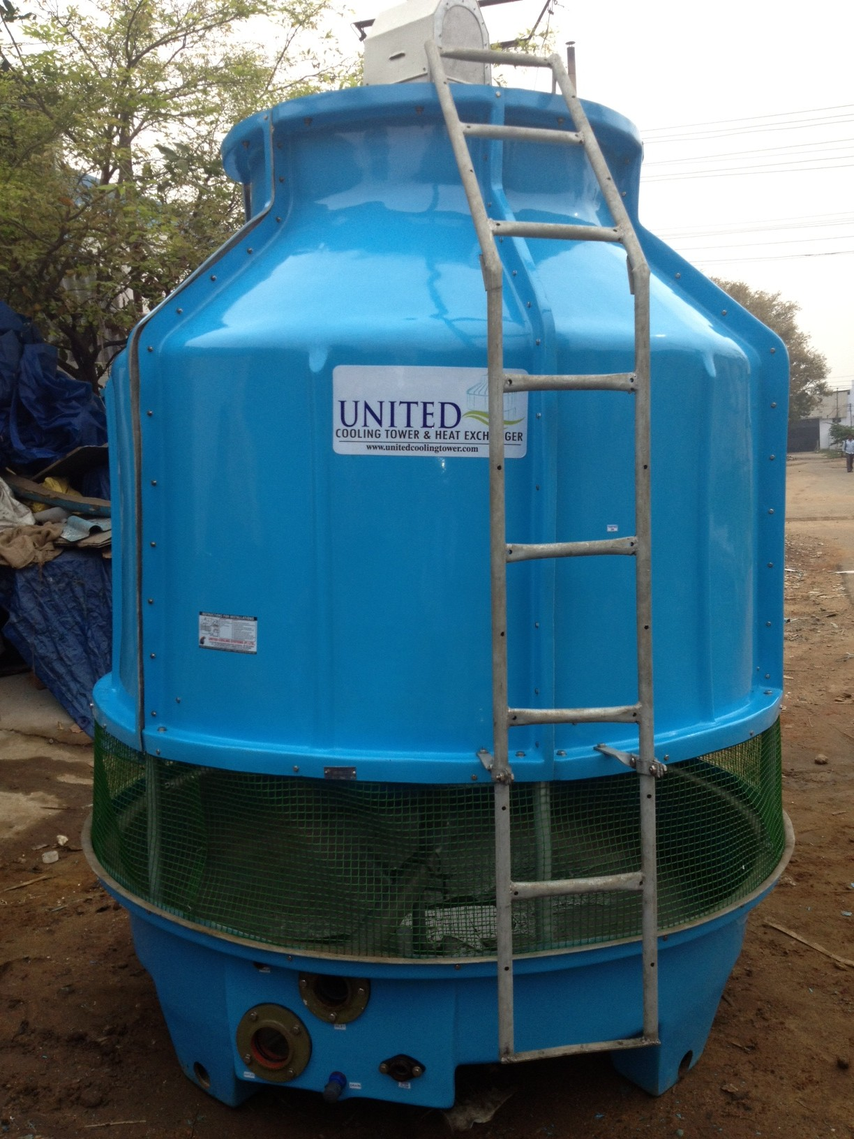 Bottle type Frp cooling tower