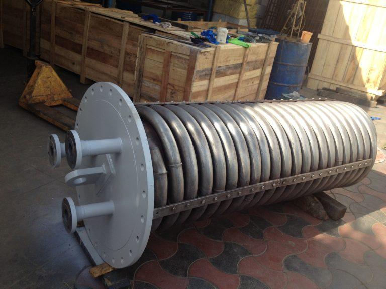 Duplex coil cooler