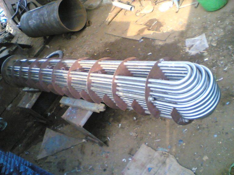 U tube bundles