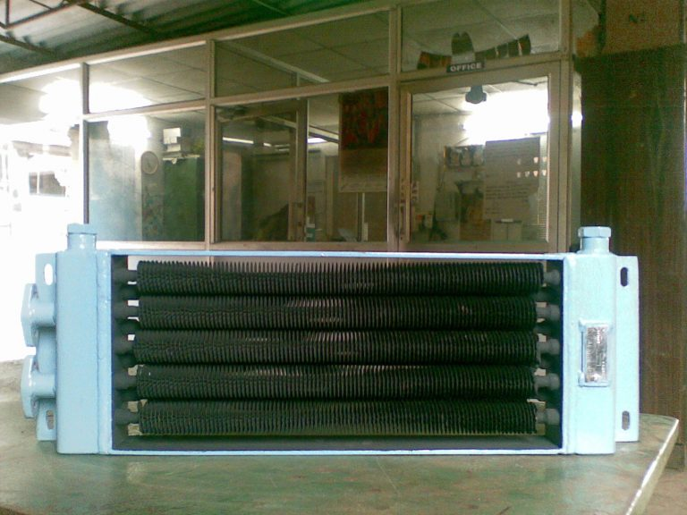 wire finned heat exchanger